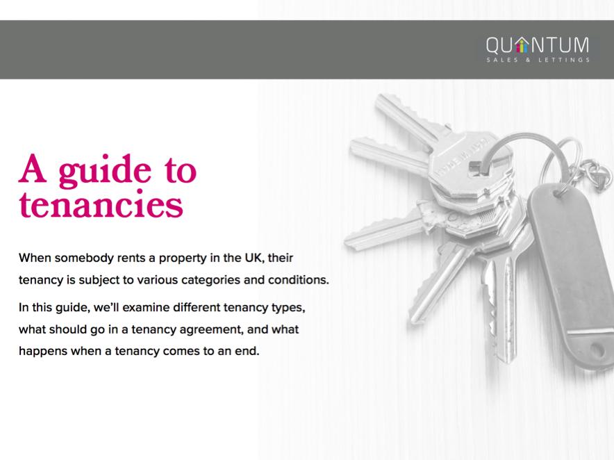 guide to tenancies