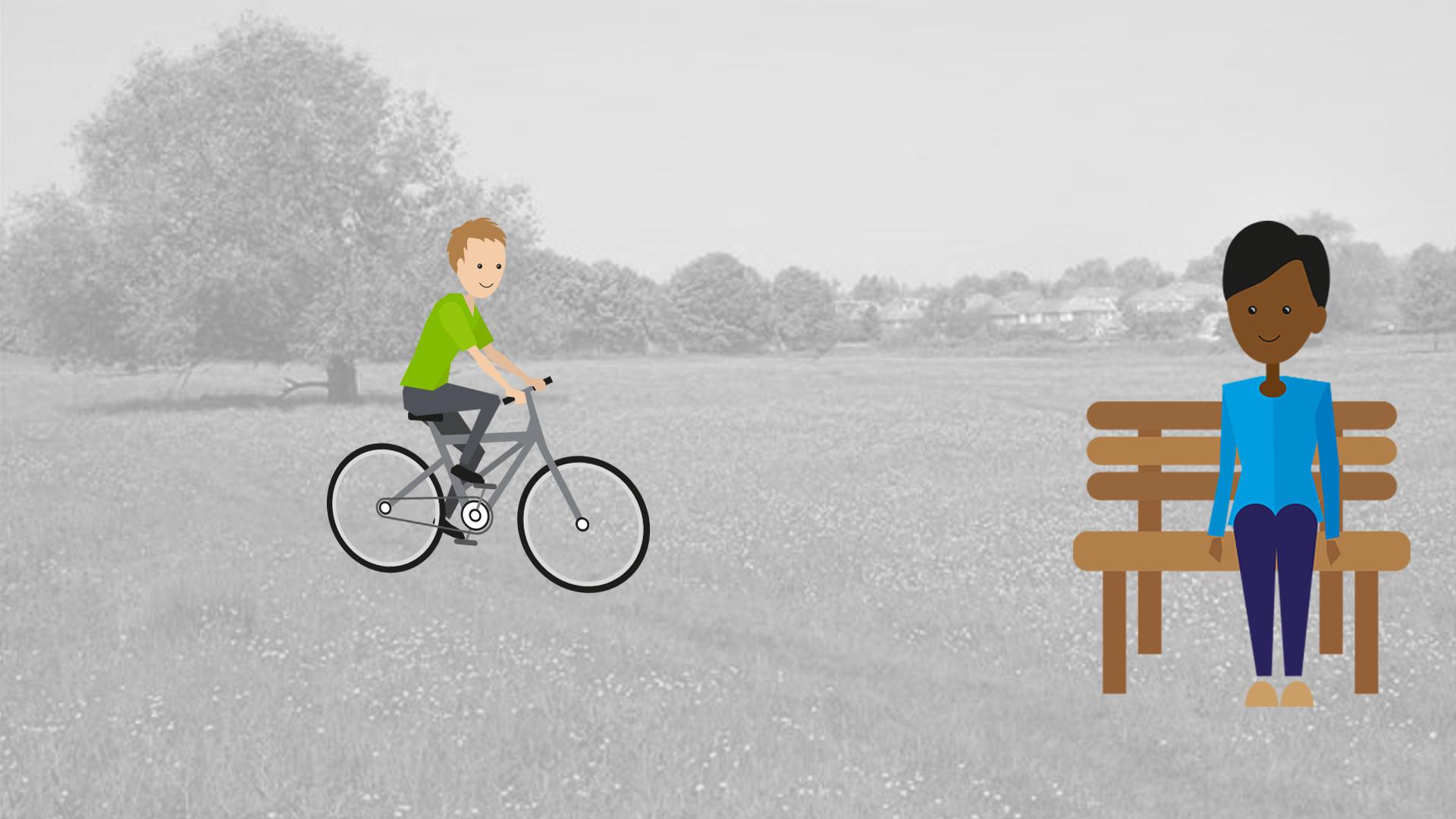 Quantum figures enjoying the green spaces of York