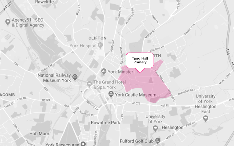 Tang Hall Primary School York Catchment Area