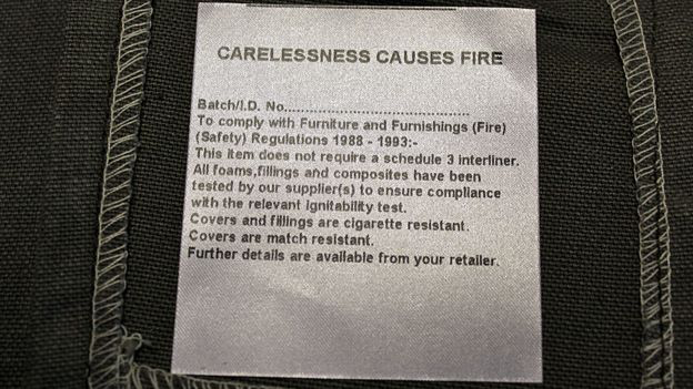 fire safety label