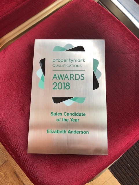 Propertymark Sales Candidate of the Year award