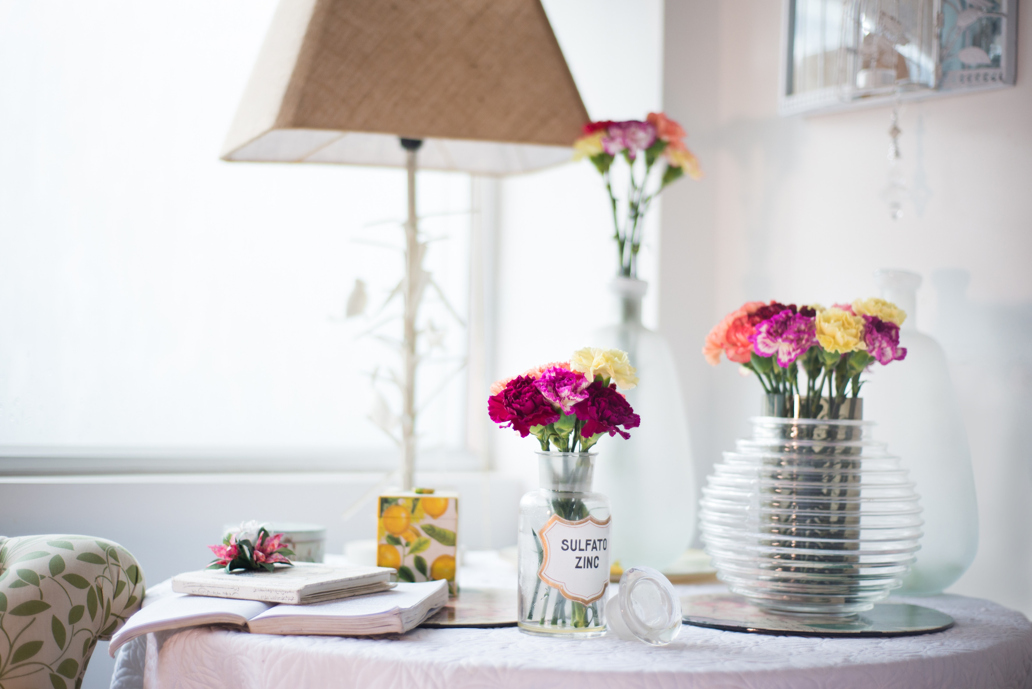 flowers on living room table Photo by Floreser on Unsplash