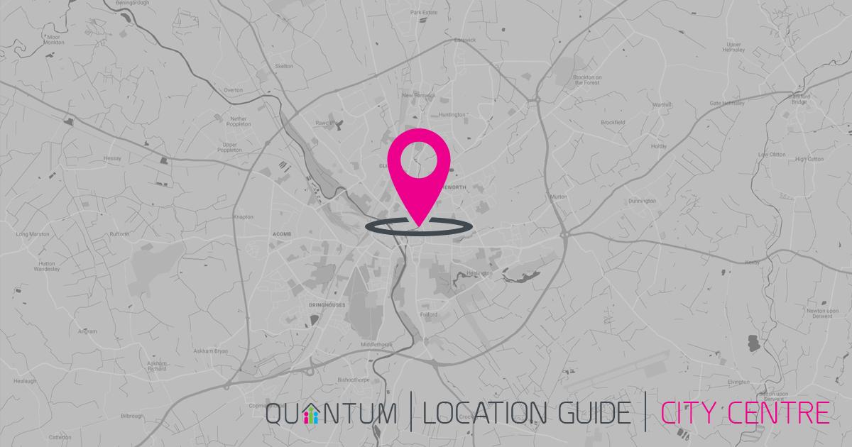 York city centre map
