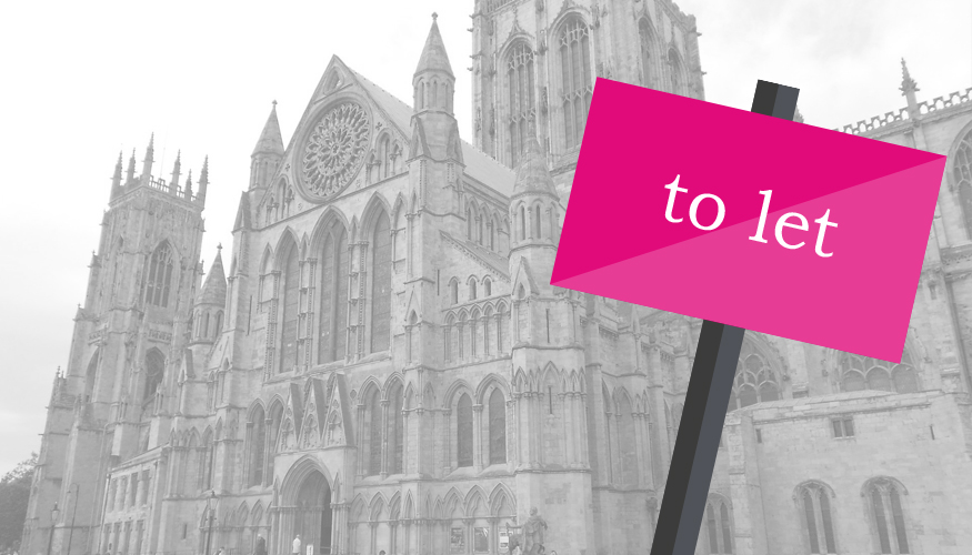 york minster and to let sign