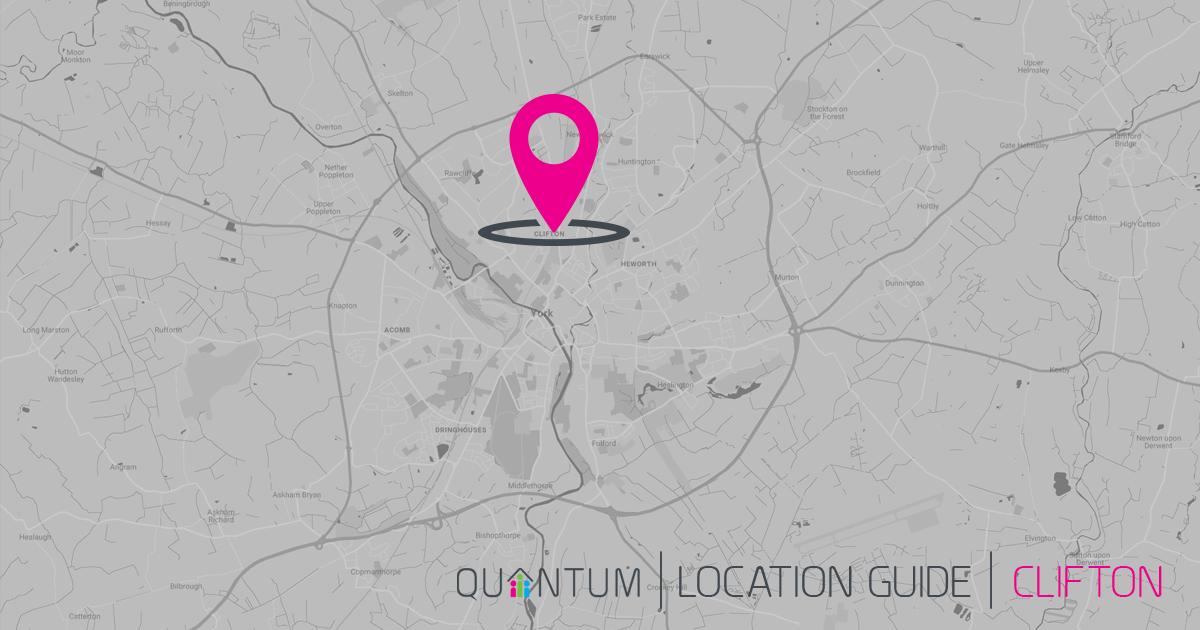 Clifton York map