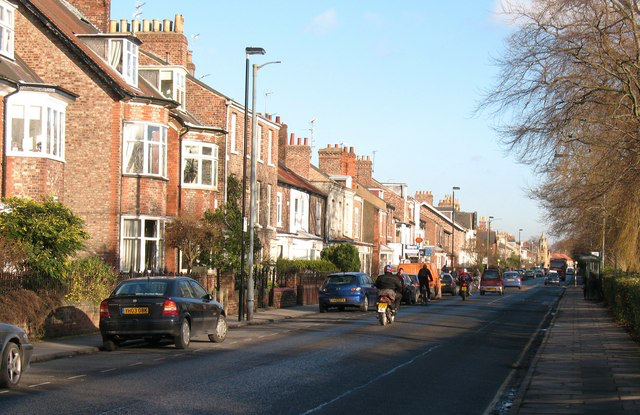 row of houses in Heworth