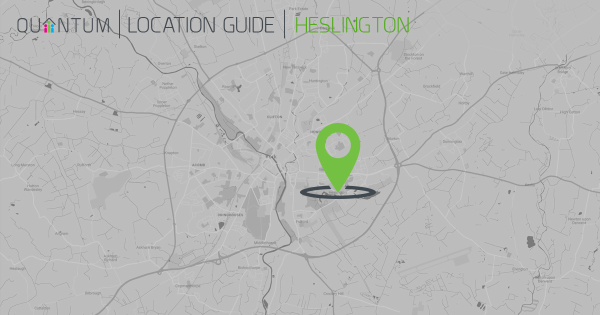 heslington location guide map